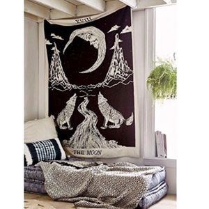 Urban outfitters moon tapestry